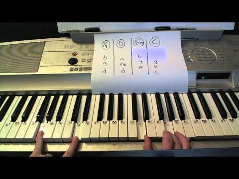 Both of Us- Piano Lesson- B.o.B (ft Taylor Swift) Todd Downing