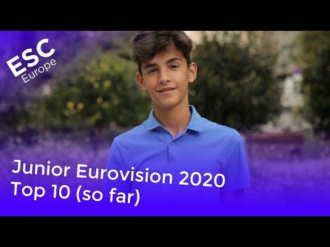 Junior Eurovision 2020 - Top 10 (so far) +
