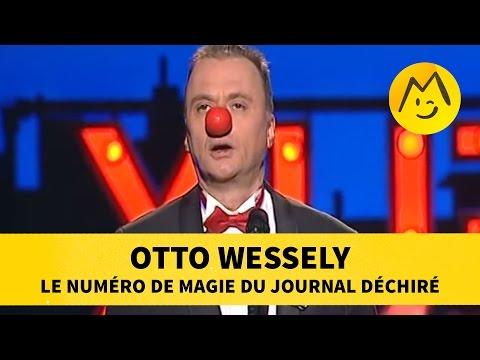 Otto Wessely : le numéro de magie du journal déchiré