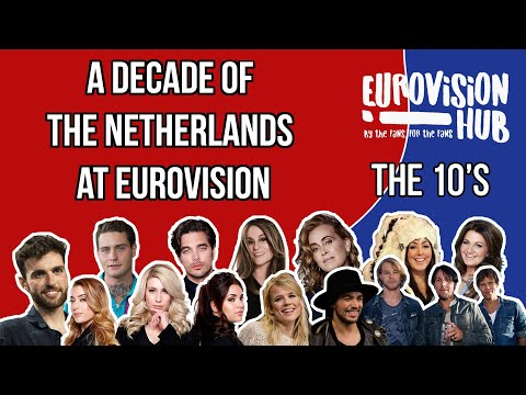 A decade of The Netherlands at Eurovision (Reaction Video)