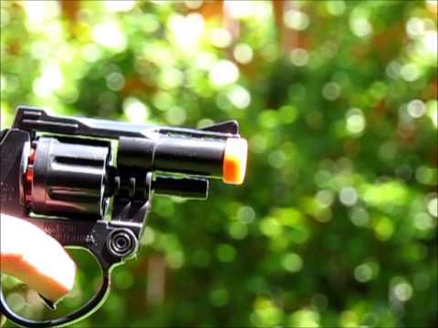 Slomo Cap guns and smoke - Ultra slow show
