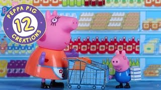 Peppa Pig Creations 12 - Making pancakes with Peppa and Mummy Pig! #PeppaPig