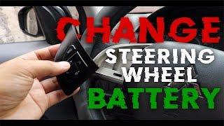 Change MIRAGE G4 Steering Wheel Battery | MITSUBISHI MIRAGE G4 GLX 2017