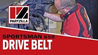 How To: Polaris Sportsman Drive Belt Change | Partzilla.com