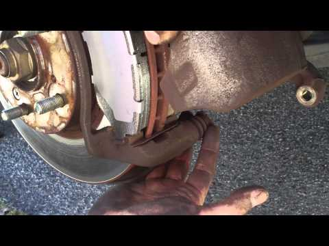 Honda Accord Front Brake Pads Replacement