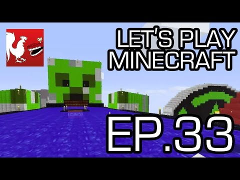 Let's Play Minecraft Episode 33 - Achievement Raceway