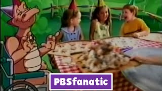 PBS Kids Bumper: Pizza Party - Dragon Tales (2010 WFWA-DT2)