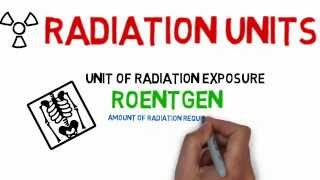 Radiology tutorials: Units of Radiation (Medical Animated Tutorials) ~ Cooldude5757