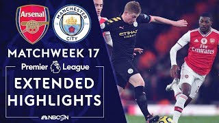 Arsenal v. Manchester City | PREMIER LEAGUE HIGHLIGHTS | 12/15/19 | NBC Sports