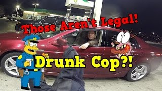 Drunk Cop | Grom Race | Powerball Madness!
