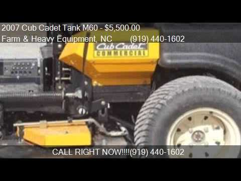 2007 Cub Cadet Tank M60 Zero turn mower for sale in Farm and