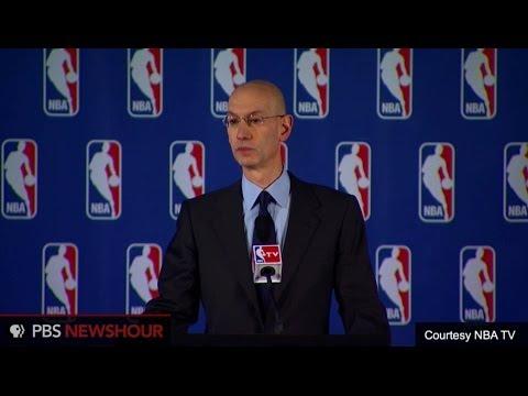 NBA commissioner announces fine, lifetime ban for Sterling