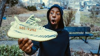 World's Most Hated Yeezy - Semi Frozen Yellow Yeezy Boost 350 V2 2018 Review