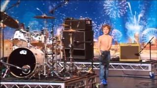 Jagger - Kid Drummer - Australia's Got Talent 2012 audition 5 [FULL]