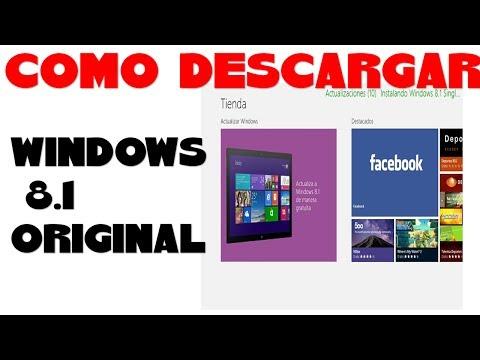 COMO DESCARGAR WINDOWS 8.1  FINAL DESDE LA TIENDA DE APLICACIONES