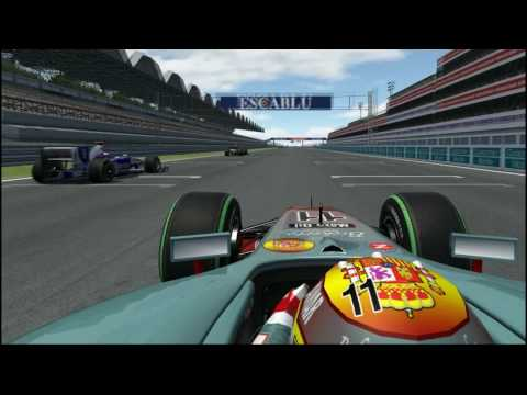 Virtual Grand Prix 3 Artifical Intelligence Demo.