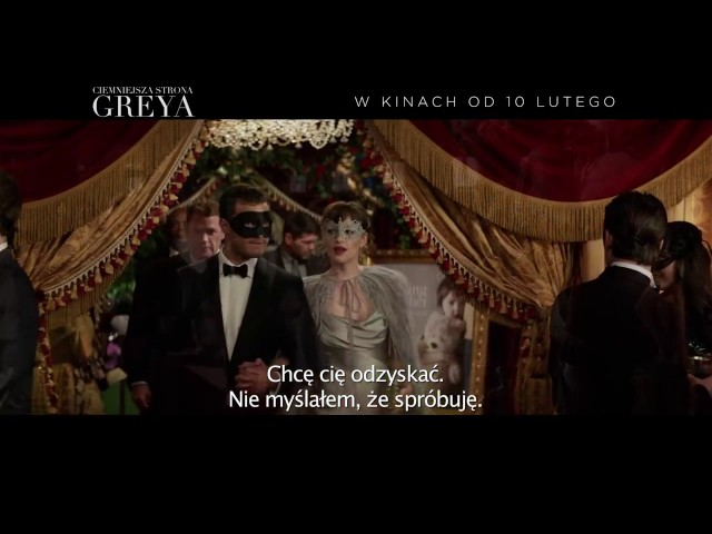 Ciemniejsza strona Greya  zwiastun PL