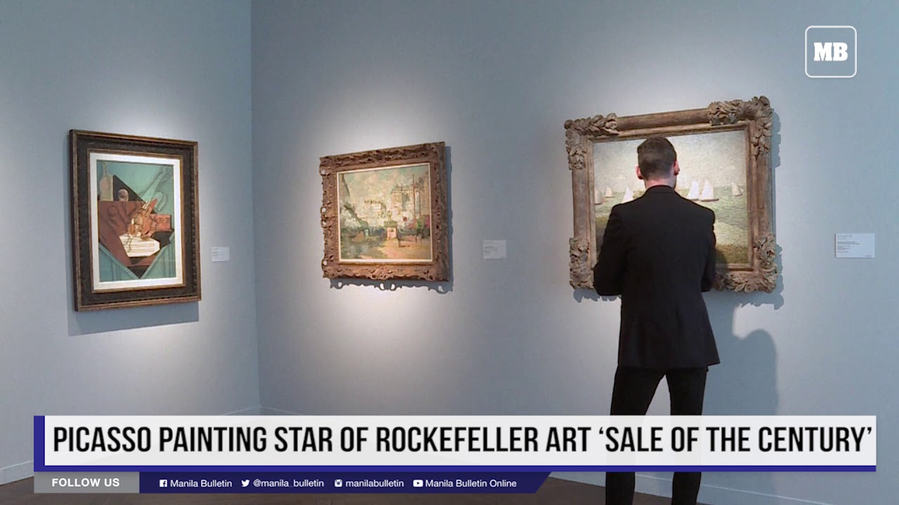 Picasso painting star of Rockefeller art 'sale of the century'
