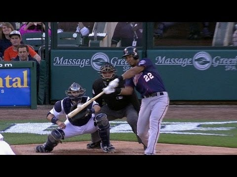 MIN@DET: Ramirez's RBI double puts Twins on the board