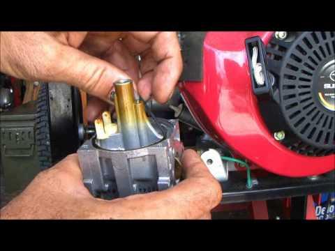 Robin subaru generator maintenance youtube for Used motor oil generator