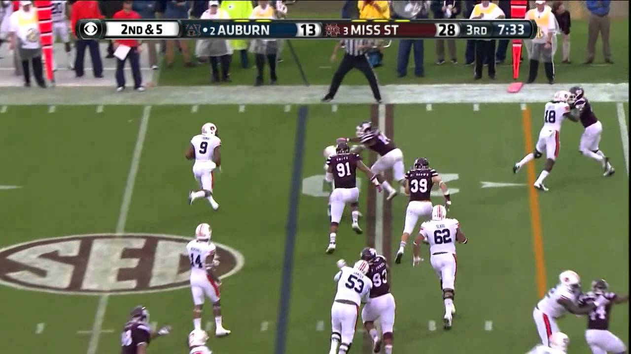 Preston Smith vs Auburn (2014)