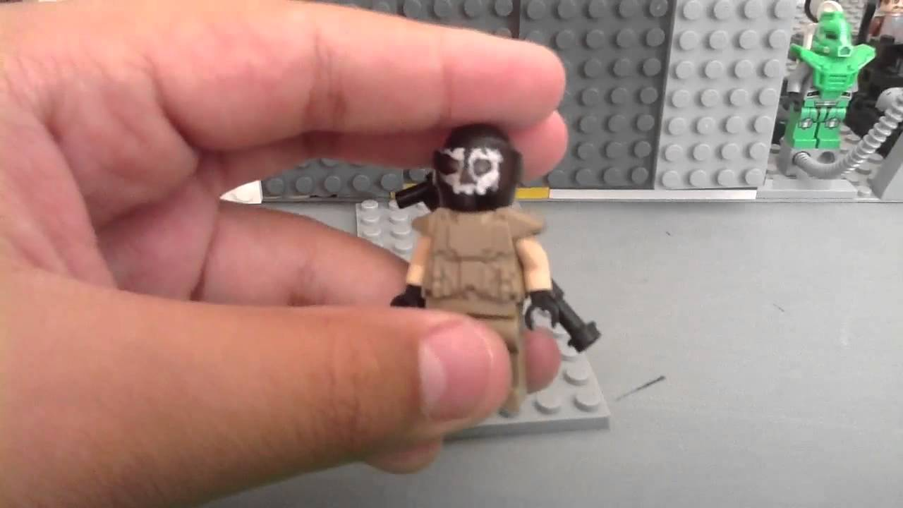 Call of Duty Ghost Character Lego Call of Duty Ghosts