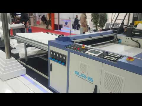 BSF-1200 FLYING KNIFE BOTTOM WELD MACHINE UP TO 150 CYCLES/MINUTE (HDPE)