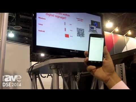 DSE 2014: Novisign Demos Interactive Signage with QR Codes