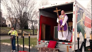 LET MY PEOPLE GO: Parking Lot Priest Thanks Donald Trump
