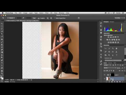 Quick Tip: How To Extend Your Background in Adobe Photoshop CC
