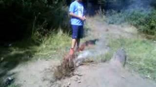 funny fire stunts