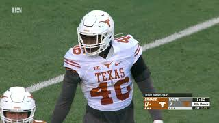 Texas Football Orange and White Spring Game LHN Highlights [April 13, 2019]