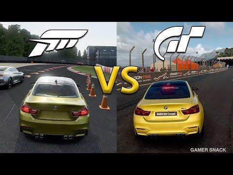 Forza Motorsport 7 VS. Gran Turismo Sport  ᴴᴰ