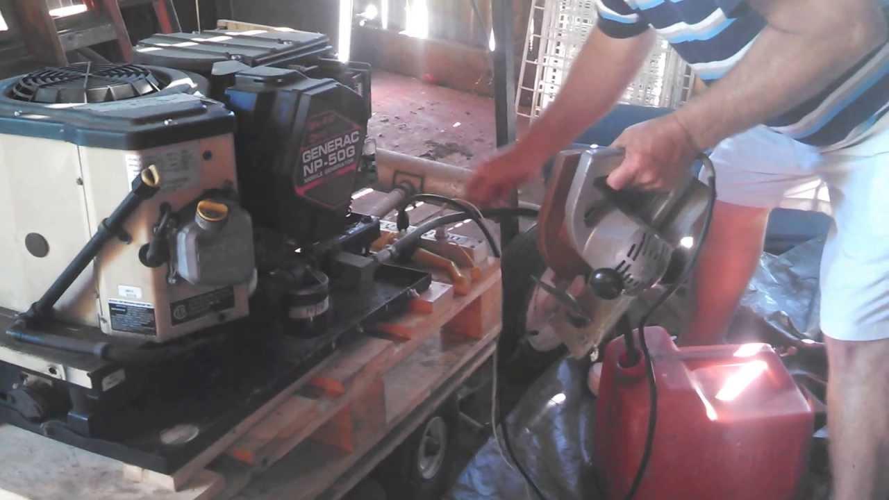 Generac Np-50g Mobile Generator