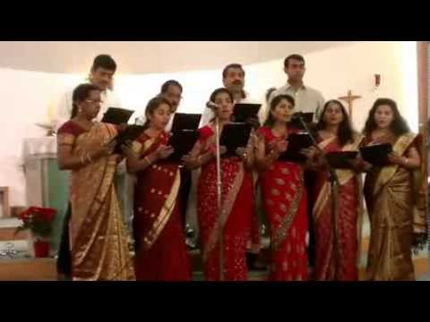 Malayalam Christmas Carol Song Jalakam Thurannu & Padam Ee Ravil Christian Devotional Song video