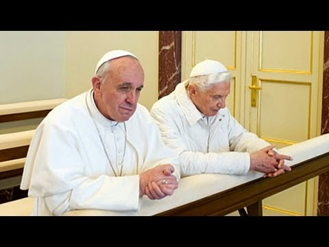 Historic Papal Meeting: Pope Francis Meets with Pope Emeritus Benedict XVI
