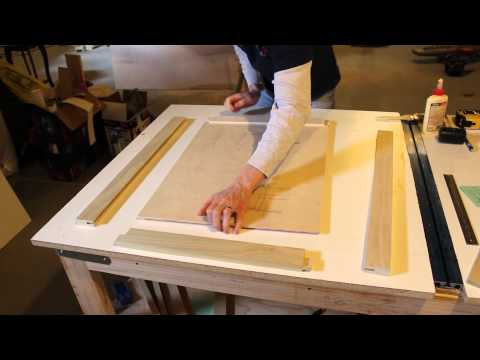 DIY Shaker Style Inset Cabinet Doors