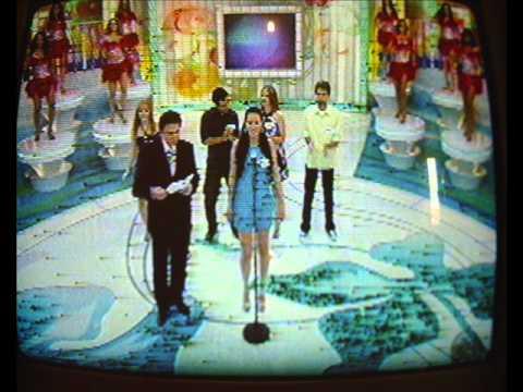 Programa Silvio Santos do Sbt -Não erre a letra-Participação de Andreh Gomez