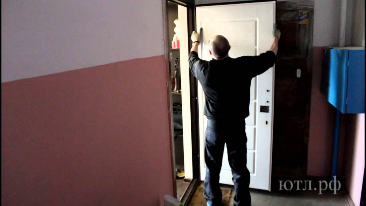 Установка мдф панели на металлическую дверь своими руками 77