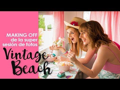 Makin Off: Sesión de Fotos Vintage Beach