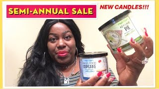 NEW CANDLES FOR SEMI ANNUAL SALE | BATH & BODY WORKS HAUL