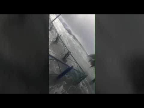 Indian Flash Flood #Tsunami Caught On Camera