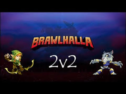 Brawlhalla Ranked 2v2 (Spamhalla, Double Yumiko, Clutched the Win!!!)