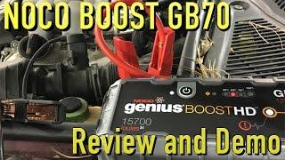 NOCO Genius Boost HD GB70 Jump Starter ~ Review