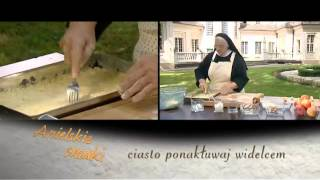 Placek z jabłkami i budyniem -- Anielskie smaki -- odc. 1.flv