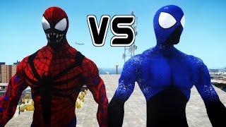 Spider-Man (Ultimate Captain Universe) vs Spiderman (Carnage)