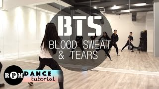 "BTS ""Blood Sweat & Tears"" Dance Tutorial (Chorus)"