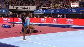Simone Biles Floor Stuttgart World Cup 2019