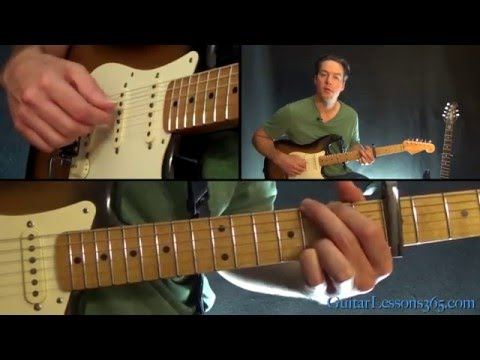 Hallelujah Guitar Lesson (Part 1) - Jeff Buckley