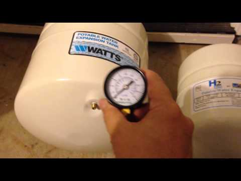 water heater expansion tank installation watts 4 5 gallon youtube. Black Bedroom Furniture Sets. Home Design Ideas